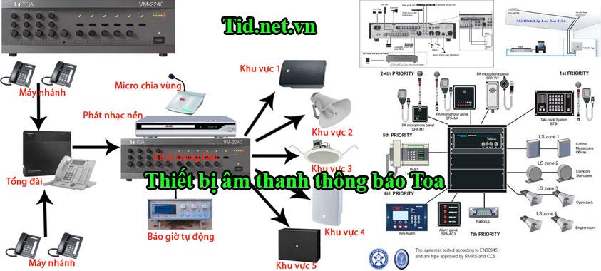 thiết bị âm thanh toa -Phân phối âm thanh toa - lắp thiết bị âm thanh toa