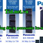 Dịch vụ lắp tổng đài panasonic kx-tda600